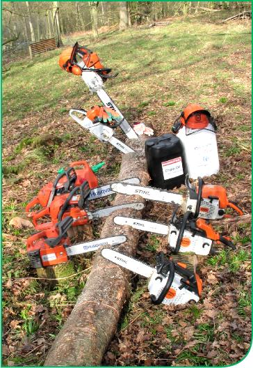 husqvarna and stihl ranges from global sales